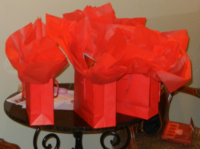 swag bags from GayRomLit in New Orleans 2011